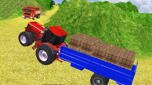 Village Tractor Games:Chained Tractor Offroad Game 1.00.0000 screenshots 2
