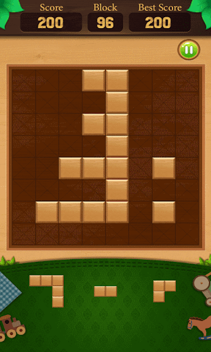 wooden block puzzle : end game screenshot 2