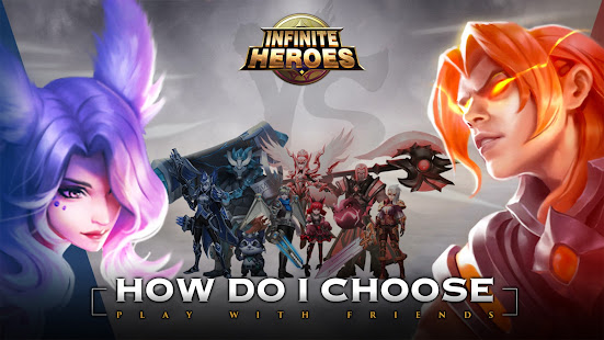 Infinite Heroesuff1aldle RPG game screenshots 1