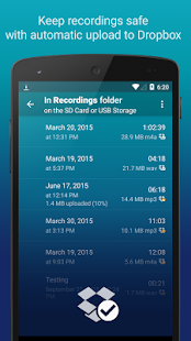 Hi-Q MP3 Voice Recorder (Free) Screenshot