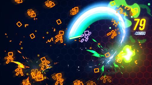 Ninja Slice Master : Stickman Neon Action  screenshots 2