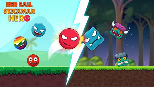 Red Ball & Stick Hero 1.0.17 screenshots 1