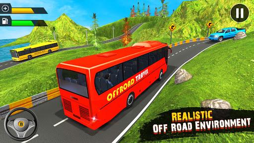 OffRoad Tourist Coach Bus Driving- Free Bus games apktram screenshots 2