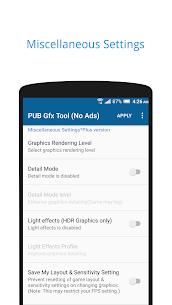 Descargar PUBG GFX APK {Último Android y IOS} 3