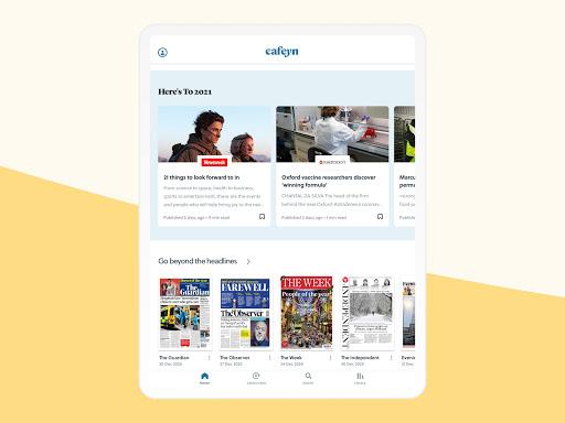 CAFEYN u2013 Online magazine subscriptions 4.10.2 Screenshots 11
