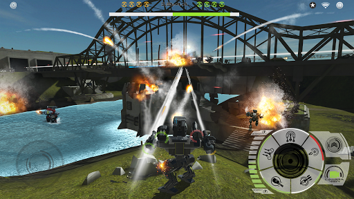 Code Triche Mech Battle - Robots War Game APK MOD (Astuce) screenshots 1