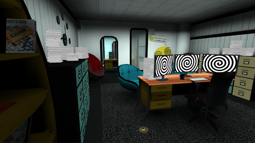 Smiling-X Horror game: Escape from the Studio  screenshots 5