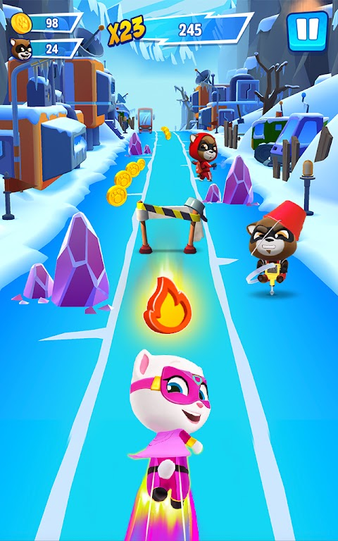Talking Tom Hero Dash - Run Game  poster 11