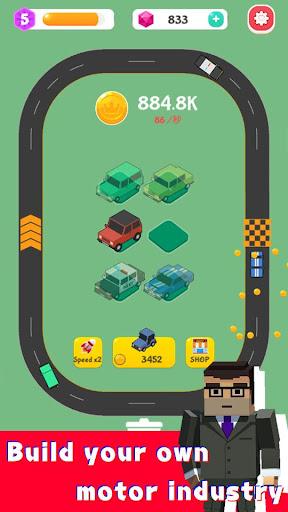 Merge Highway - Merge & Idle Motor Empire  screenshots 1