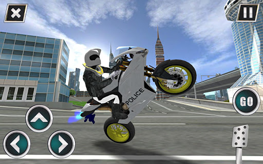 Police Motorbike Traffic Rider 1.8 screenshots 5