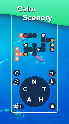 Puzzlescapes: Relaxing Word Puzzle & Spelling Game 2.245 screenshots 5