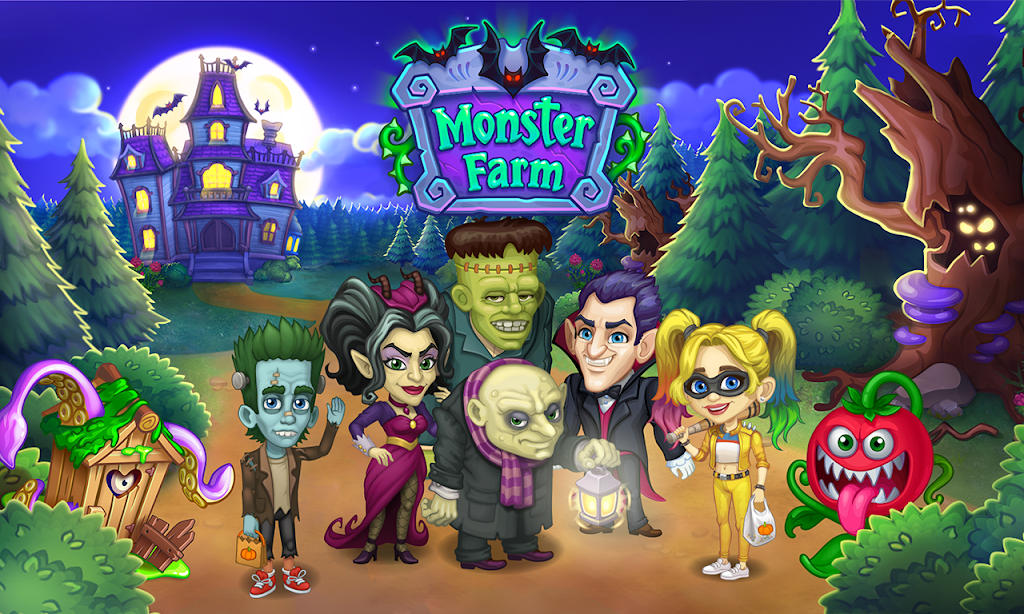 Monster Farm - Happy Ghost Village - Witch Mansion poster 1