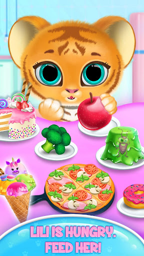 Baby Tiger Care - My Cute Virtual Pet Friend modavailable screenshots 4