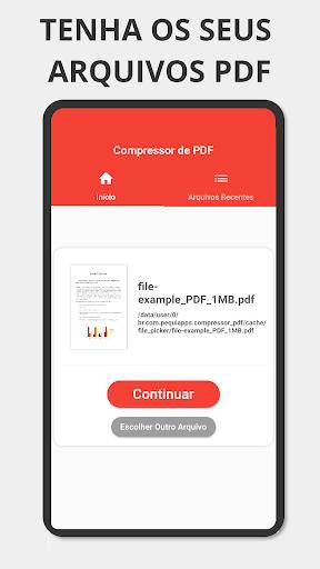 Reduce PDF - Compress / Compress PDF modiapk screenshots 1