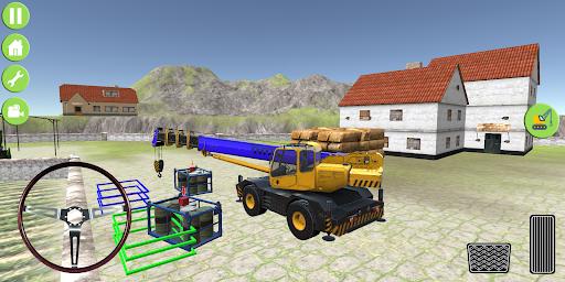 Heavy Excavator Jcb City Mission Simulator screenshot 12