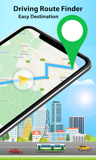 GPS Alarm Route Finder - Map Alarm & Route Planner 1.5 Screenshots 2