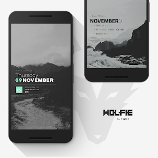 Wolfie for KWGT Screenshot