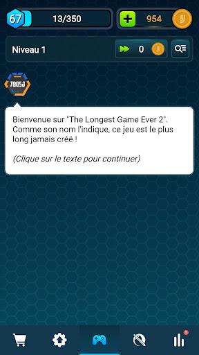 Code Triche The Longest Game Ever 2 (Astuce) APK MOD screenshots 1
