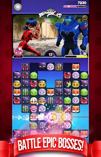 Miraculous Crush : A Ladybug & Cat Noir Match 3  Screenshots 2