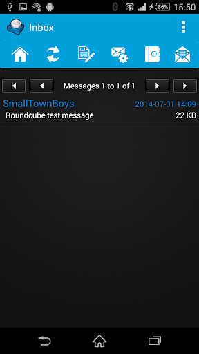 Roundcube Webmail screenshots 1