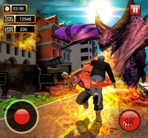 Monster Dinosaur Simulator: City Rampage 1.18 screenshots 8