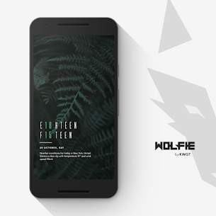 Wolfie for KWGT Apk [Paid] Download for Android 2