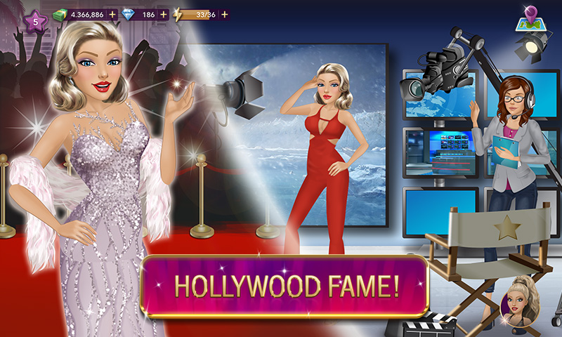 Hollywood Story: Fashion Star  poster 3