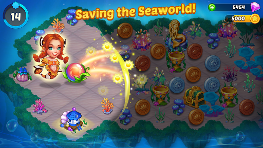 Merge Mermaids-design home&create magic fish life. 1.0.8 screenshots 2