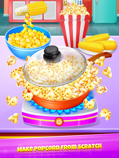 Popcorn Maker - Yummy Rainbow Popcorn Food screenshots 2