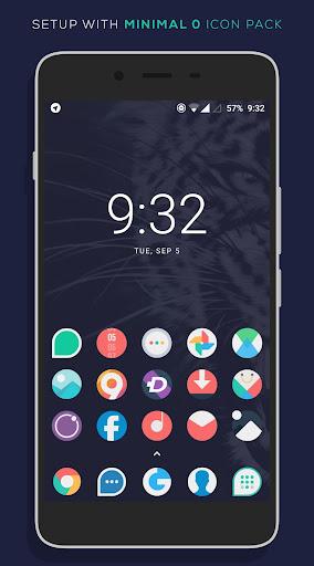 Minimal O - Icon Pack apktram screenshots 8