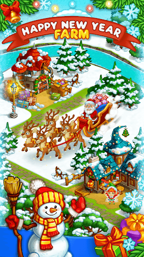 Farm Snow: Happy Christmas Story With Toys & Santa screenshots 3