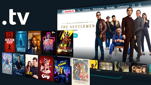 SWEET.TV - TV online for TV and TV-boxes screenshots 2
