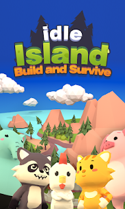 Idle Island: Build and Survive Mod Apk (Unlimited Money) 1
