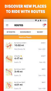 Map My Ride GPS Cycling Riding Screenshot