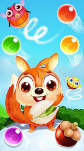 Squirrel pop - match, fun & shooter bubble pet