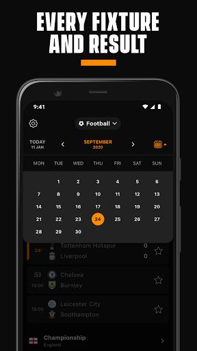 LiveScore: Live Sports Scores 4.3 Screenshots 4