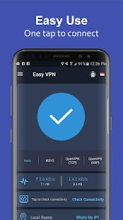 Easy VPN - Free VPN proxy, super VPN shield Screenshot