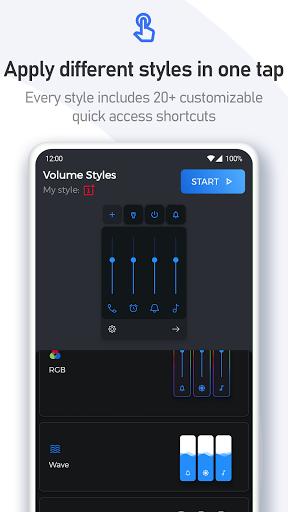 Volume Styles - Customize your Volume Panel Slider 4.1.3 Screenshots 7