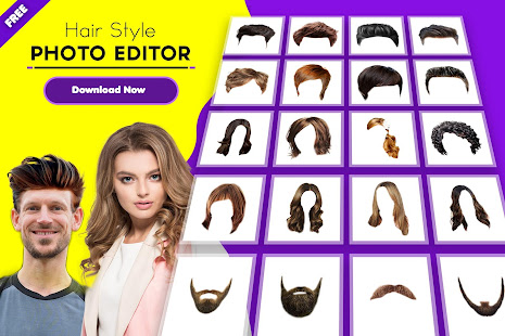 Hair Styler The Hair Style Photo Editor App Apps On Google Play
