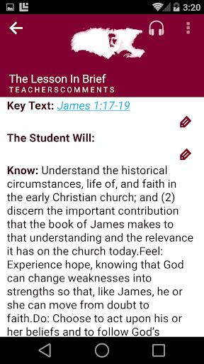 SDA Sabbath School Quarterly  screenshots 4