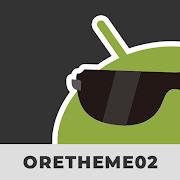 oretheme-02 KLWP Skin Pack