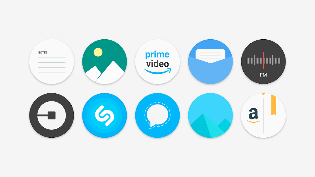 Flat Pie - Icon Pack  poster 2