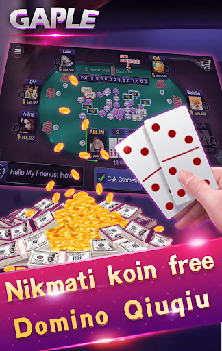 Domino gaple 99 domino kiukiu remi capsasusun screenshots 4