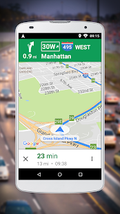 Navigation for Google Maps Go Screenshot