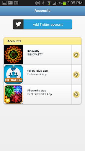 Followers+ for Twitter 1.2.0 Screenshots 4