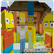 The Simpsons hid and run Mod For Minecraft PE - Androidアプリ