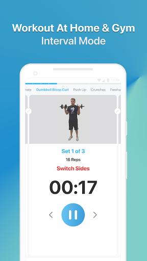 JEFIT Workout Tracker, Weight Lifting, Gym Log App 10.80 Screenshots 2