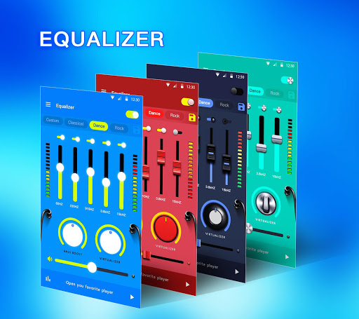 Music Equalizer - Bass Booster & Volume Booster  Screenshots 1