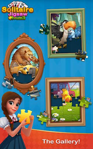 Solitaire Jigsaw Puzzle - Design My Art Gallery  screenshots 20