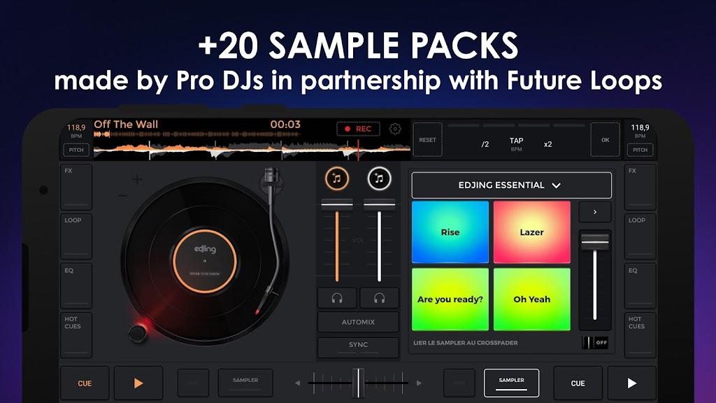 edjing Mix - Free Music DJ app  poster 2